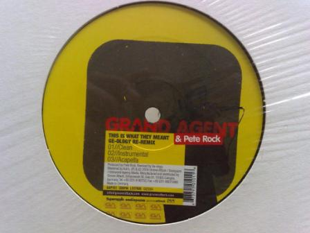 Grand Agent This Is What They Meant 12''