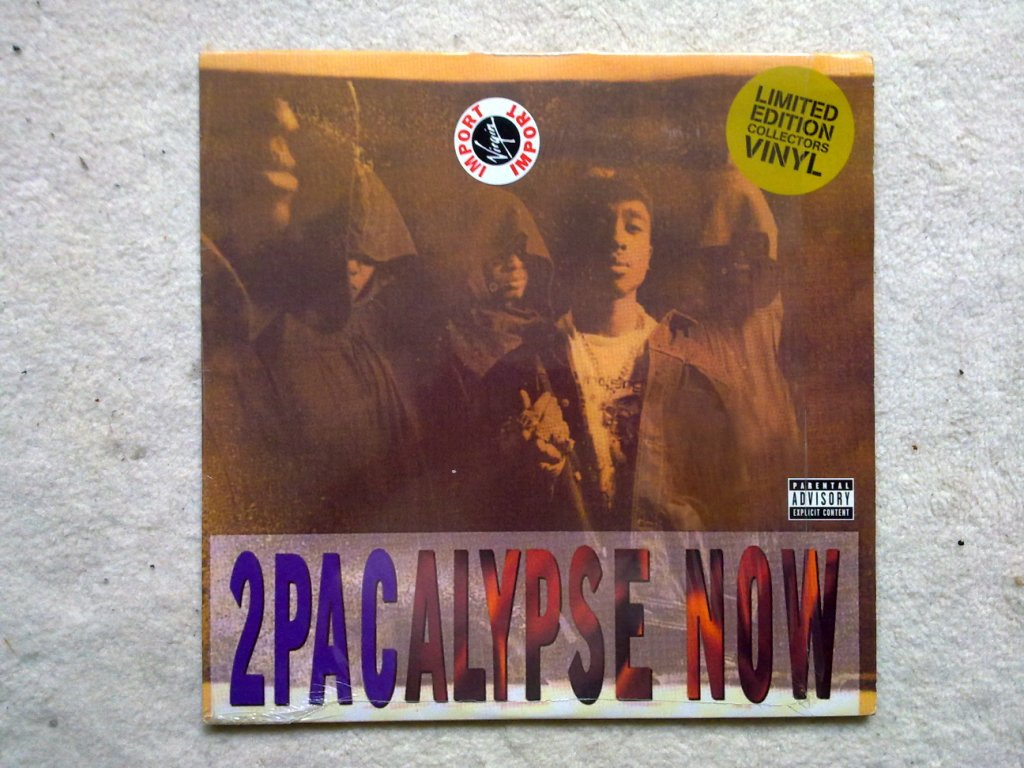 2pac 2pacalypse Now 2XVINYLLP