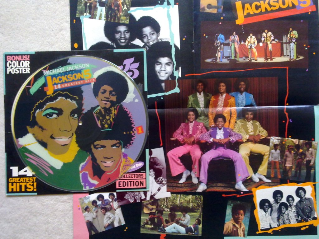 MICHAEL JACKSON / THE JACKSON 5 - 14 Greatest Hits! - LP